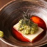 チーズ豆腐とアボカド