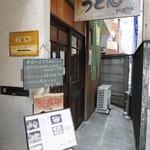 うどん sugita - お店は中目黒駅から歩いて10分ほど。