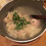 炊き餃子と唐揚げ とき家 - 炊き餃子 ハーフサイズ(520円)