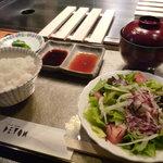 ステーキ・デボン - ☆お肉以外は…お盆で登場です(*^^)v☆