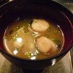 ステーキ・デボン - ☆麩入りのお味噌汁☆