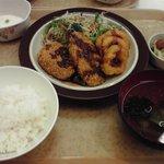 増上寺会館 大食堂 - フライ定食