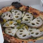 ボッケーノ - レンコンのピザ