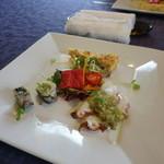 ポルポ - ランチの前菜