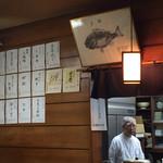 釜めしお可免 - 日本酒の品ぞろえも豊富