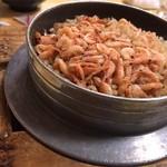 釜めしお可免 - 桜海老釜飯