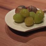 eat - ギンナンと芽クワイの唐揚げ