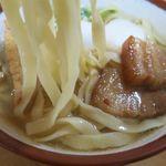 新山食堂 - 沖縄そばの麺