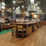 ステーキハウス朝日レストラン - 店内です