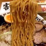 けいすけ - 料理写真:肉そば醤油(味玉入り)880円(麺)