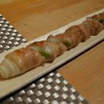 喜きつ - 下仁田葱の豚バラ巻き