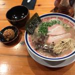 59164996 - らーめん(¥720)赤オニ(¥120)替玉(¥130)11/22/2016