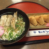 和風料理 金比羅亭 - 料理写真:ごぼう天うどん=540円 いなり=210円
