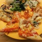 デザート王国 - サラダ、ピザ、グラタン