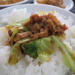 上海飯店 - 回鍋肉