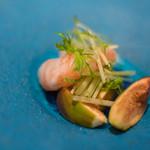 智映 - 牡丹蝦(ぼたんえび)に無花果(いちじく)