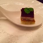 レストラン フィオーレ - 一口目はフォアグラのムース