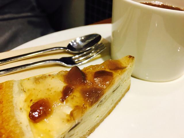 サンクサンク - いちじくチーズケーキ
