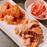 赤から - 鶏セセリ、鶏かわ、赤からカルビ(おためしセット・3人前)