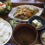 こはなカフェ - 料理写真:本日のランチ@980