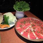 5917800 - 焼き野菜、サンチュ、特選おまかせ盛り
