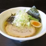 シロサキ - 塩ラーメン(700円)
