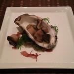 ステーキ&シーフード ボストン - 牡蠣のアヒージョ