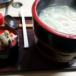 さぬきうどん - 釜あげ(750円)