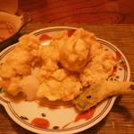 割烹 しまもと - 白子の天ぷら