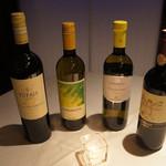 バジリコ - お料理ごとにあうワインを