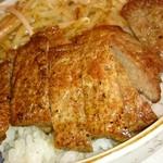 竹之里 - ステーキのアップ。