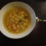 ラピアッツァ - 本日のスープ