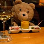 59181641 - フラスワイン&お通し