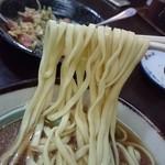 まるしん食堂 - 沖縄そば 麺リフト