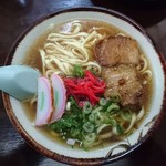まるしん食堂 - 料理写真:沖縄そば590円