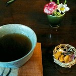 59183256 - お茶とお茶請け