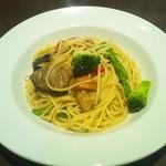 59183383 - グリル野菜とアンチョビ風味のスパゲッティ(税抜950円)