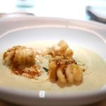 レフェルヴェソンス - セイコ蟹とさつま芋のスープ