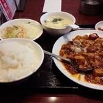59185580 - マーボー豆腐セット 700円