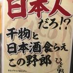 59185667 - (メニュー)