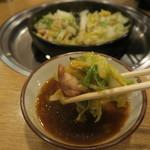 さぶろうべい - とり白菜(親鶏)(550円)(定食は970円)