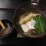 さぬき庵 - 鍋焼きうどん(*゚∀゚*)790円