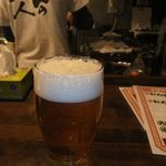 丸十 - 生ビール♪