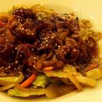満マル - 牛焼肉野菜炒め