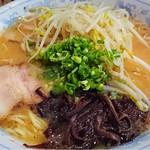 丸太小屋 - 味噌ラーメン