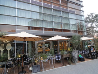 クッチーナカフェ オリーヴァ - テラス席もあります。