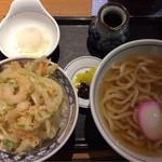ウエスト - 料理写真:かき揚げ丼セット