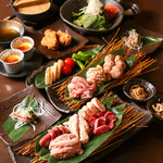 senca鶏本店 喜場屋 - 満腹コース