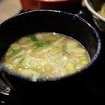 つけ麺や 武双 - スープ:鶏白湯