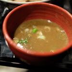 つけ麺や 武双 - スープ:鶏魚介